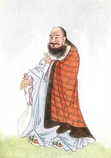 Drawing of Lao Tzu